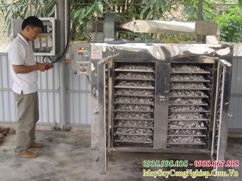 Dây chuyền sản xuất khoai môn sấy - phần 4